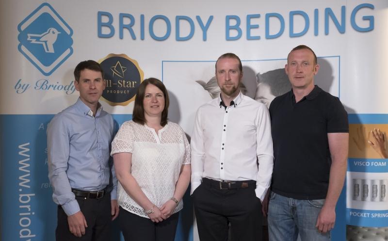 From Left: Brendan Briody, Bridget Briody, David Briody, Martin Briody