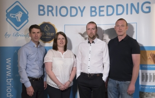 From Left: Brendan Briody, Bridget Briody, David Briody, Martin Briody